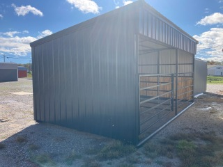 12 X 20 Horse Shed