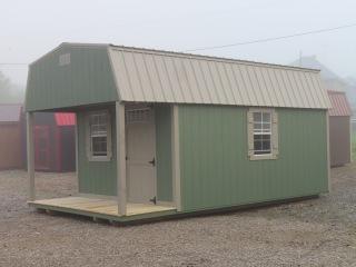 12 X 20 Lofted Cabin